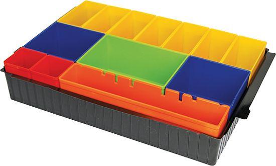 Makita unutarnja posuda s kutijama u boji i pjenom P-83652