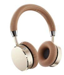 Satechi Bluetooth Aluminum brezžične slušalke, zlato-rjave