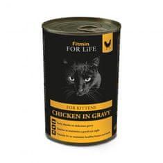 Fitmin FFL cat tin kitten chicken hrana za mačke, 12 x 415 g