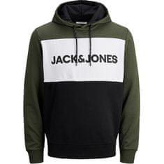 Jack&Jones Moška JJELOGO Regular Fit JJELOGO 12172344 Forest Night REG (Velikost XXL)