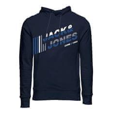 Jack&Jones Moška jopica JCOALPHA 12188035 Navy Blaze r (Velikost M)