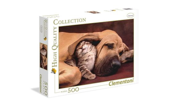 Clementoni puzzle Cuddles, 500 komada (35020)