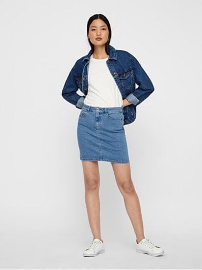 Vero Moda Spódnica VMHOT SEVEN 10231638LightBlueDenim