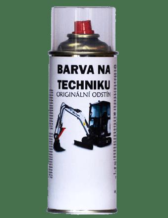 BARVY NA TRAKTORY BOBCAT 2-K PUR originální barva ve spreji 400ml