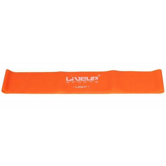 LiveUp elastika za vadbo, oranžna