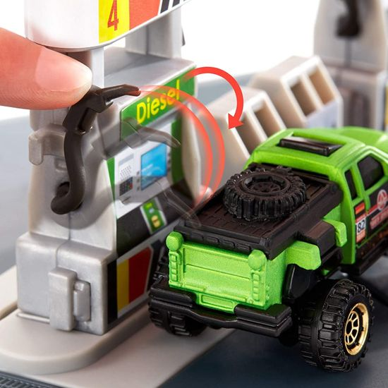 Matchbox Action Drivers Bencinska črpalka