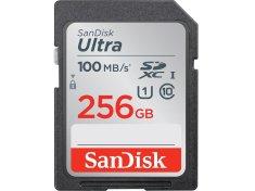 SanDisk Ultra SDXC spominska kartica, 256 GB, UHS-I, C10