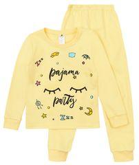 Garnamama dívčí pyžamo s potiskem svítícím ve tmě md50841_fm30 98 žlutá