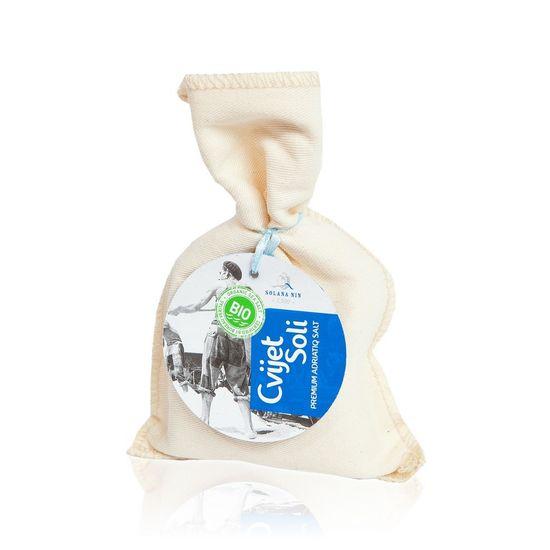 Solana Nin BIO květ soli ručně sbíraný - 150g