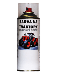 BARVY NA TRAKTORY KUBOTA 2-K PUR originální barva ve spreji 400ml, ORANŽOVÁ