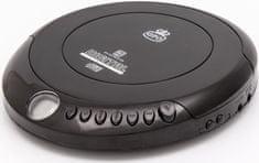 GPO Retro Portable CD Player, čierna