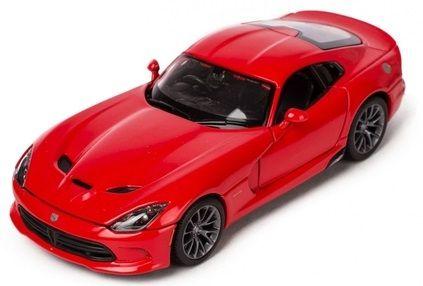 Maisto Dodge Viper 2013 červená 1:24