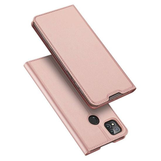 Dux Ducis Skin Pro knjižni usnjeni ovitek za Xiaomi Redmi 9C, roza