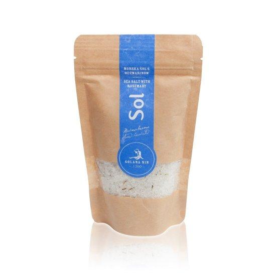 Solana Nin Mořská sůl s rozmarýnem v sáčku - 250 g