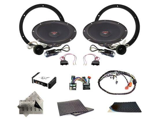 Audio-system SET - kompletní ozvučení do Volkswagen Passat B6 a B7 (2006-2014) - UPGRADE 1