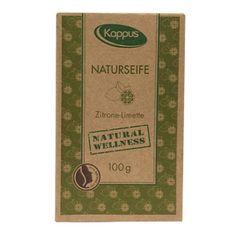 Kappus Certifikované přírodní mýdlo 100 g citron & limetka 3-1421
