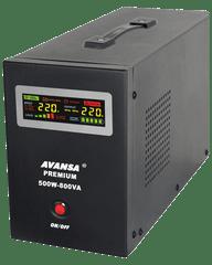 Avansa UPS 500 W - Záložný zdroj