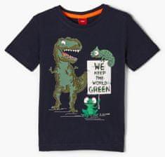 s.Oliver chlapecké tričko 404.10.102.12.130.2058006 116/122 tmavě modrá