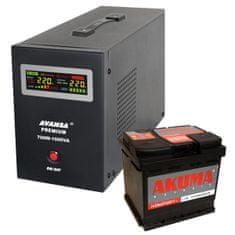 Avansa UPS 700 W + batéria 55 Ah - Záložný zdroj