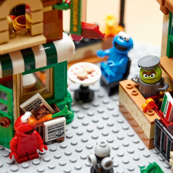 LEGO Ideas 21324 123 Sesame Street