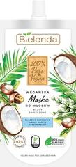 Bielenda 100% PURE VEGAN Kokosové mlieko + Karité maska na poškodené vlasy 125ml
