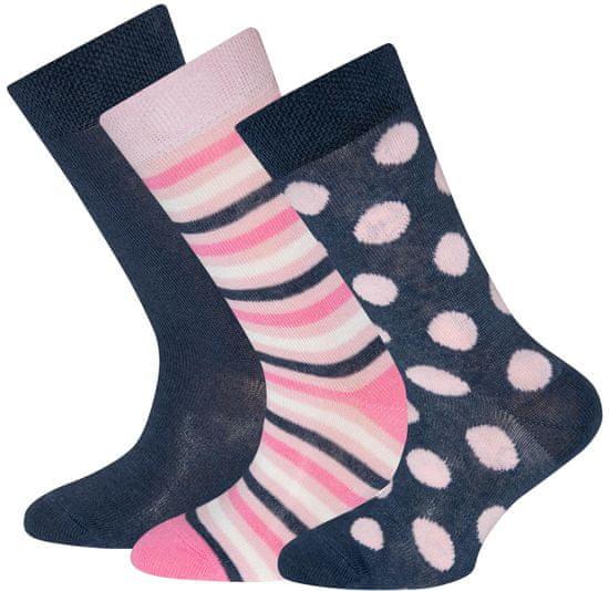 EWERS čarape za djevojčice, trostruko pakiranje 201200