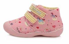 D-D-step C015-822 dekliške superge, platnene, roza, 23