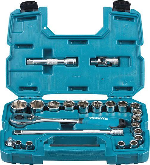 Makita 23-dijelni set raglje i nasadnih ključeva B-65589