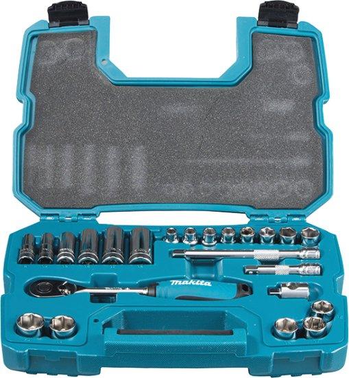 Makita 23-dijelni set raglje i nasadnih ključeva B-65573