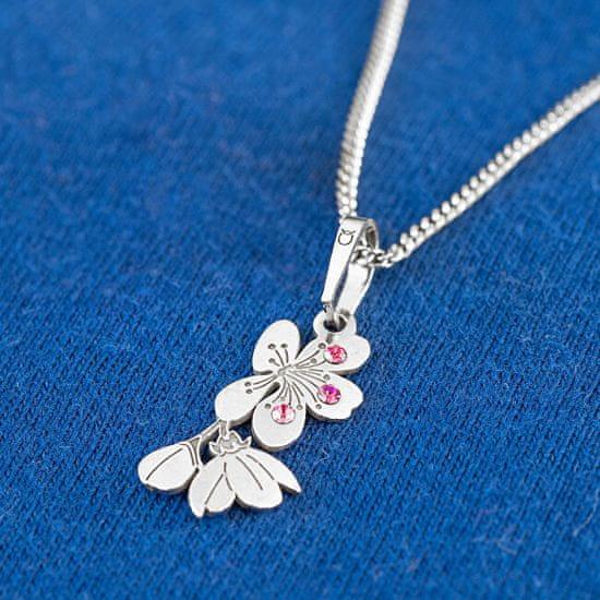 Praqia Eredeti ezüst nyaklánc Cherry KO5034_RH (lánc, medál) ezüst 925/1000