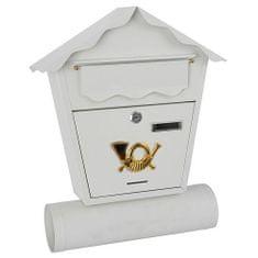 Poštanski sandučić 44 x 37 x 10, bijeli