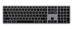 Satechi Slim X3 brezžična tipkovnica, Bluetooth, Space Gray, US