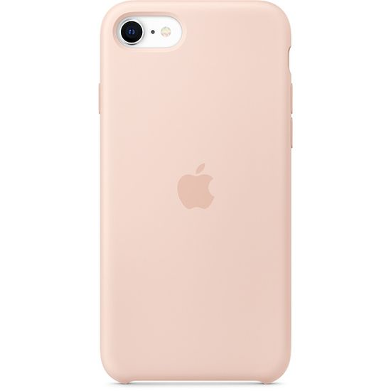Apple iPhone SE2 Silicone Case ovitek, Pink Sand