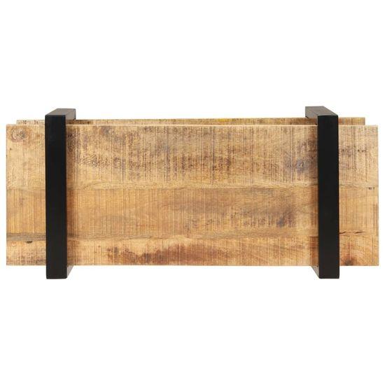 shumee TV omarica 90x40x40 cm robusten mangov les