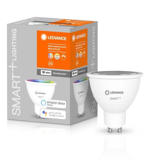 LEDVANCE Smart + WiFi SPOT 32 GU10 pametna žarulja, Multicolour 32, 45°, 5 W/2.700 K–6.500 K