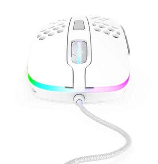 Xtrfy mysz komputerowa M4, biały