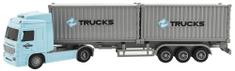Teddies Kamión s kontajnermi 33cm so svetlom a zvukom