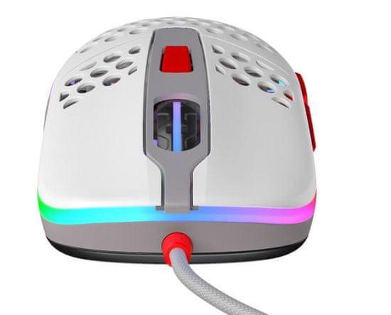 Xtrfy mysz komputerowa M42 RGB, retro