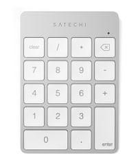 Satechi Slim brezžična številčna tipkovnica, Bluetooth, srebrna