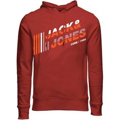 Jack&Jones Moška jopica JCOALPHA 12188035 Red Ocher (Velikost L)