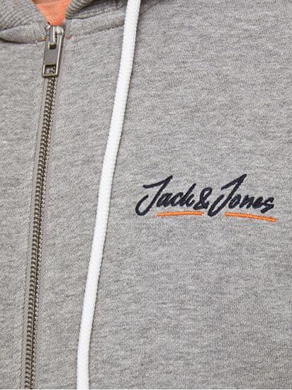 Jack&Jones Moška jopica JORTONS 12186716 Light Grey Melange