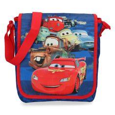 SETINO Menší taška pro kluky Cars, modrá kostky