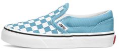Vans VN0A4BUT30Y UY Classic Slip-On Checker Board otroške slip-on superge, svetlo modre, 27