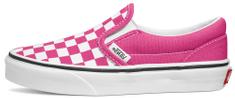 Vans VN0A4BUT30Z UY Classic Slip-On Checker Board dekliške slip-on superge, roza, 27