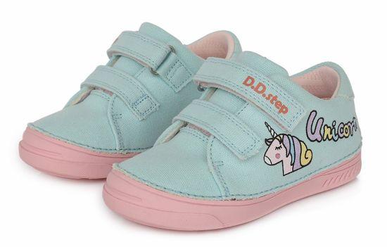 D-D-step C040-557A platnene dekliške superge