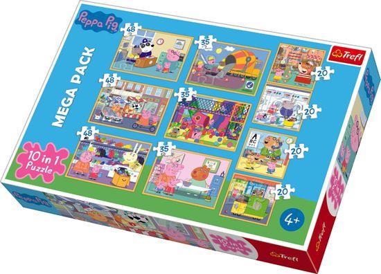 Trefl Puzzle 10v1 Prasátko Peppa