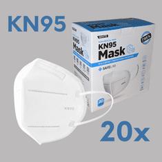 Zaščitna maska KN95, 5-slojna, 20 kosov