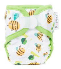 Bobánek majtki wierzchnie dla noworodka, na rzep - Pszczoły