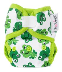 Bobánek majtki wierzchnie dla noworodka, na rzep - Wesołe żabki
