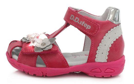 D-D-step AC290-384 sandale za djevojčice, svjetleće
